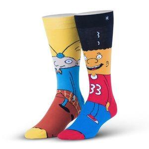 Odd Sox Hey Arnold Nickelodeon Socks Gerald